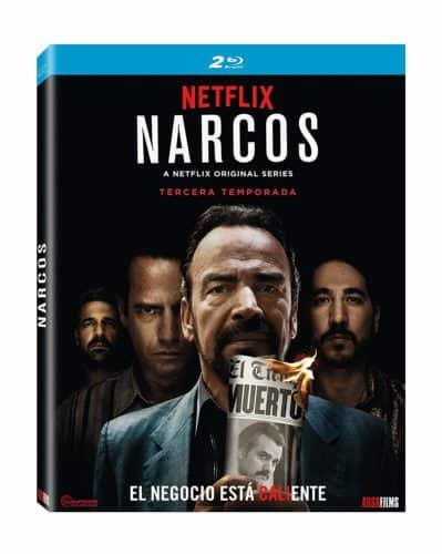 narcos 3 blu-ray